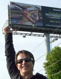 Tanya Doskova Art  on Billboard in Houston, TX